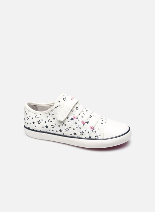Sneakers Geox J Gisli Girl J154NE Bianco vedi dettaglio/paio
