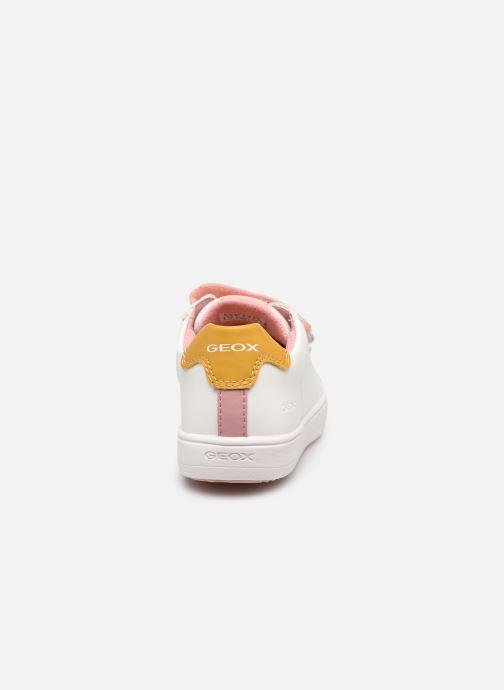 Sneakers Geox J Silenex Girl J15DWB Bianco immagine destra