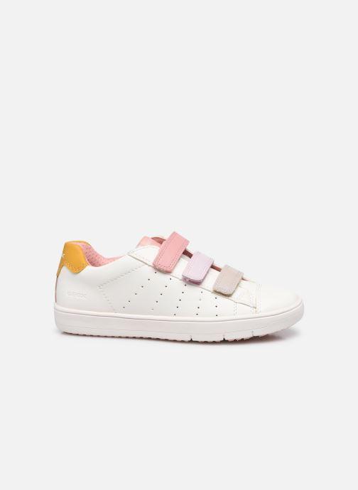Sneakers Geox J Silenex Girl J15DWB Bianco immagine posteriore