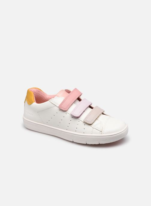 Sneakers Geox J Silenex Girl J15DWB Bianco vedi dettaglio/paio