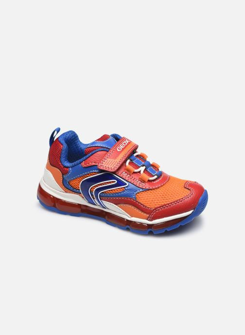 Sneakers Geox J Android Boy J1544B Rood detail