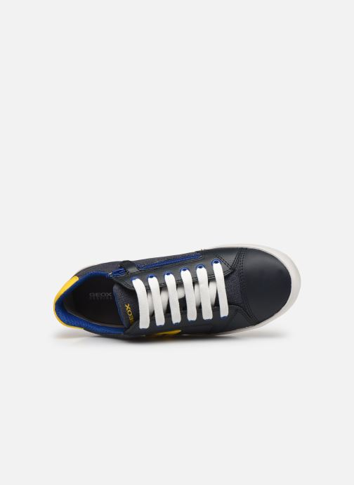 Sneakers Geox J Gisli Boy J155CD Azzurro immagine sinistra