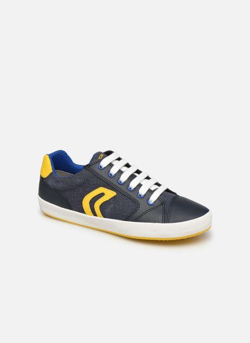 Sneakers Geox J Gisli Boy J155CD Azzurro vedi dettaglio/paio