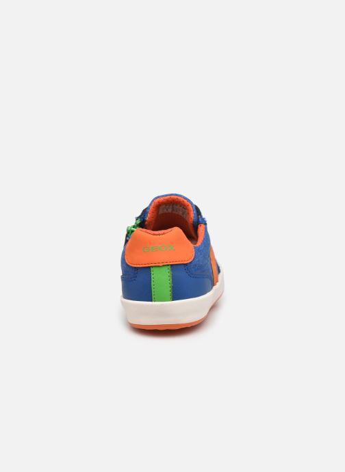Sneakers Geox J Gisli Boy J155CD Azzurro immagine destra