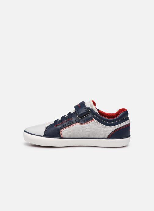 Sneakers Geox J Gisli Boy J155CA Grigio immagine frontale