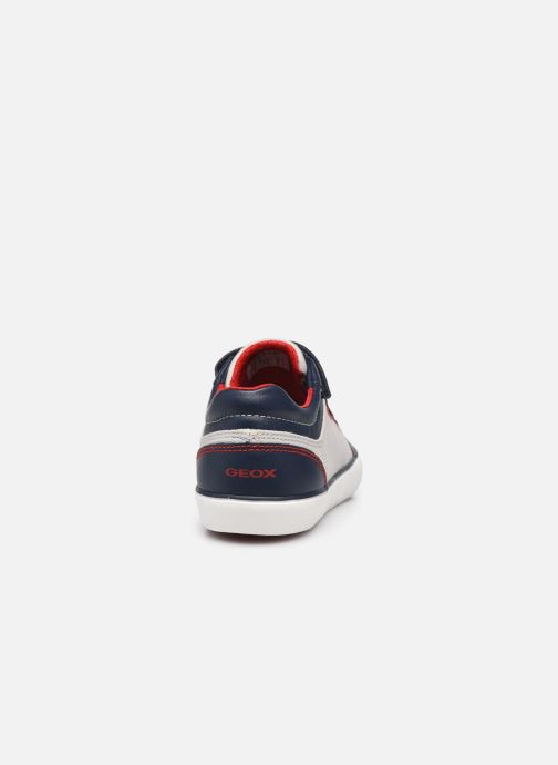 Sneakers Geox J Gisli Boy J155CA Grigio immagine destra