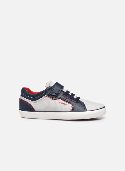 Sneakers Geox J Gisli Boy J155CA Grigio immagine posteriore