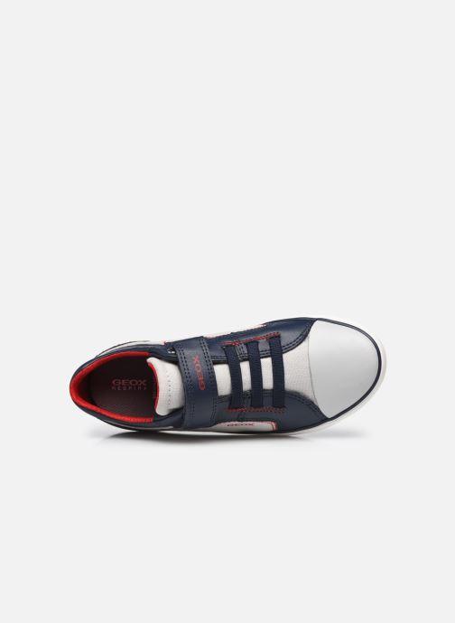 Sneakers Geox J Gisli Boy J155CA Grigio immagine sinistra
