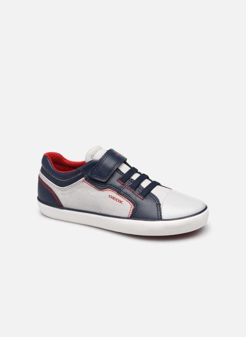 Sneakers Geox J Gisli Boy J155CA Grigio vedi dettaglio/paio
