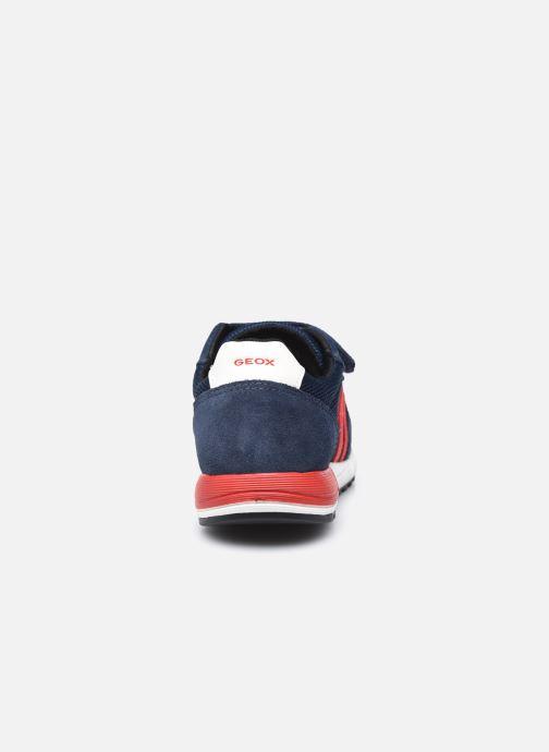 Sneakers Geox J Alben Boy J159EA Blauw rechts