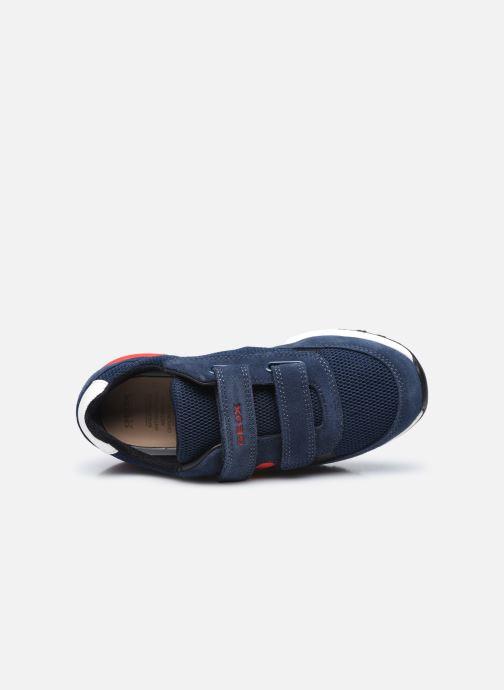 Sneakers Geox J Alben Boy J159EA Blauw links