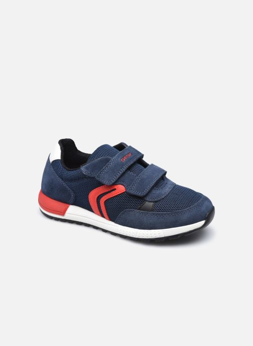Sneakers Geox J Alben Boy J159EA Blauw detail