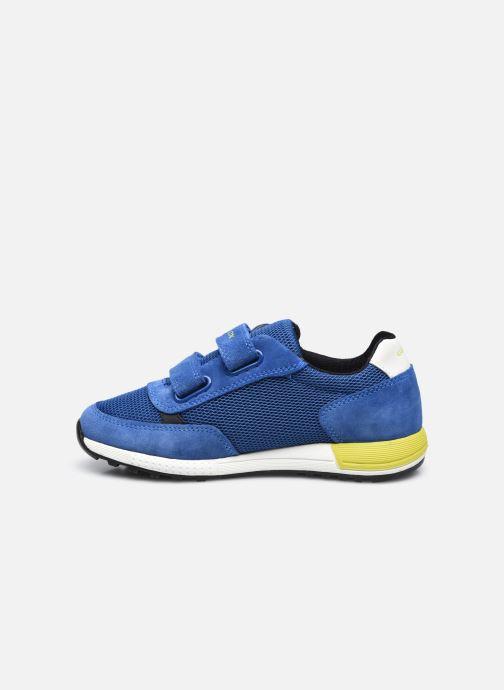 Sneaker Geox J Alben Boy J159EA blau ansicht von vorne