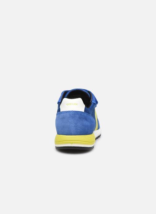 Sneaker Geox J Alben Boy J159EA blau ansicht von rechts