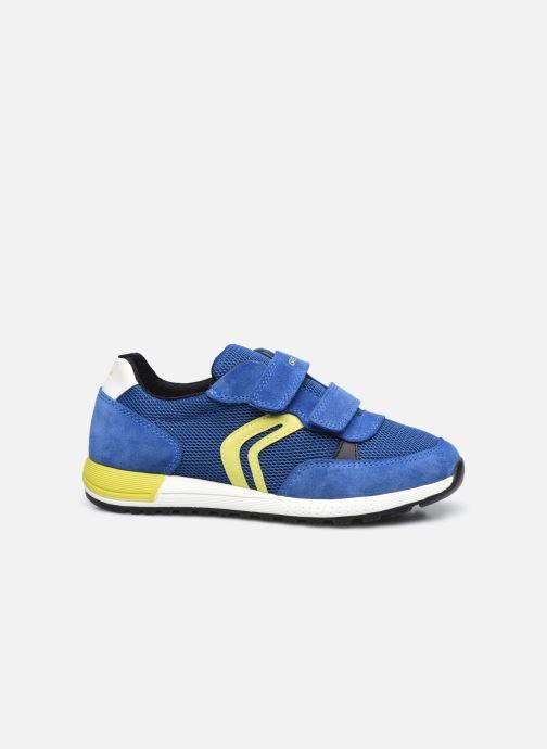 Sneaker Geox J Alben Boy J159EA blau ansicht von hinten