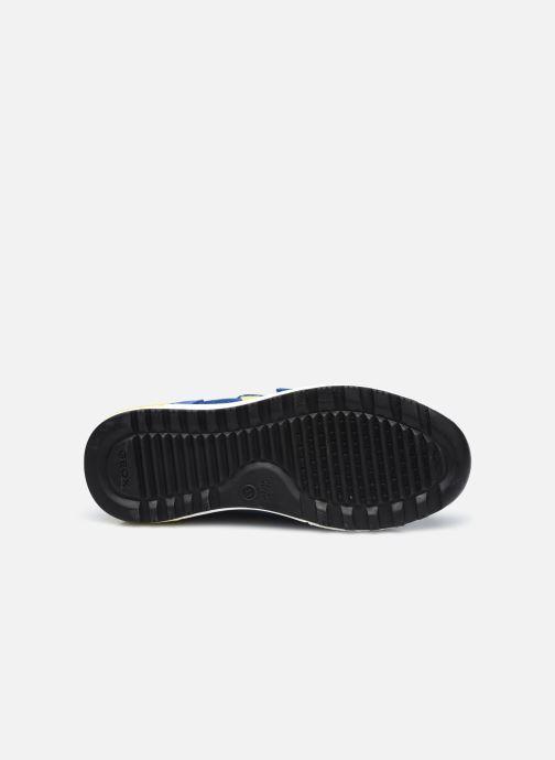 Sneaker Geox J Alben Boy J159EA blau ansicht von oben