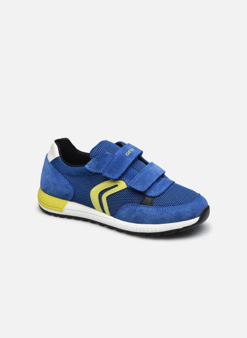 Sneaker Geox J Alben Boy J159EA blau detaillierte ansicht/modell