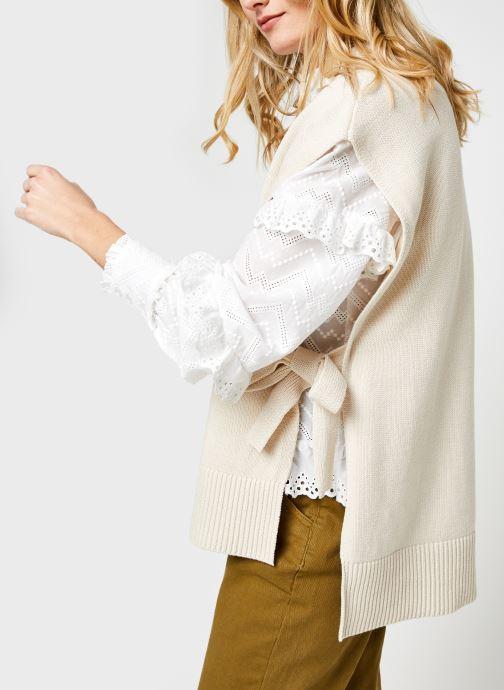 Vêtements Selected Femme Slftinka Beige vue détail/paire