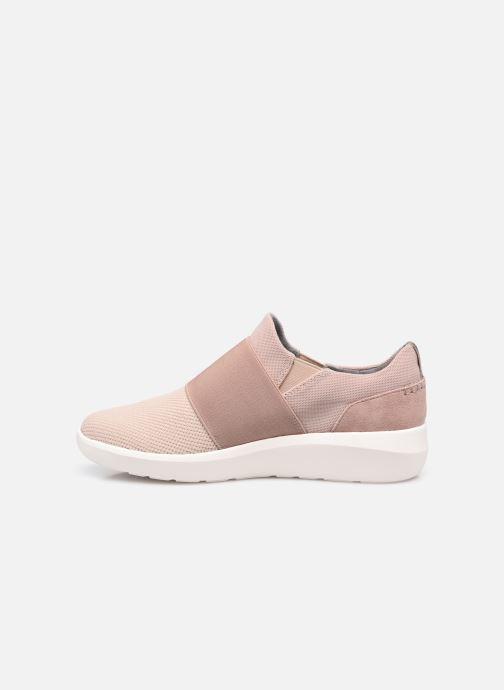 Sneaker Clarks Kayleigh Band rosa ansicht von vorne