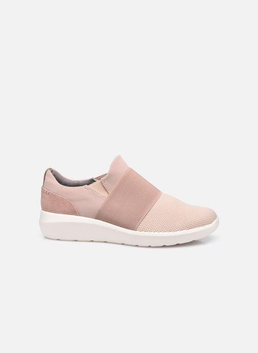 Sneaker Clarks Kayleigh Band rosa ansicht von hinten
