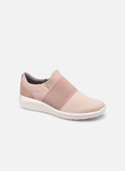 Baskets Clarks Kayleigh Band Rose vue détail/paire