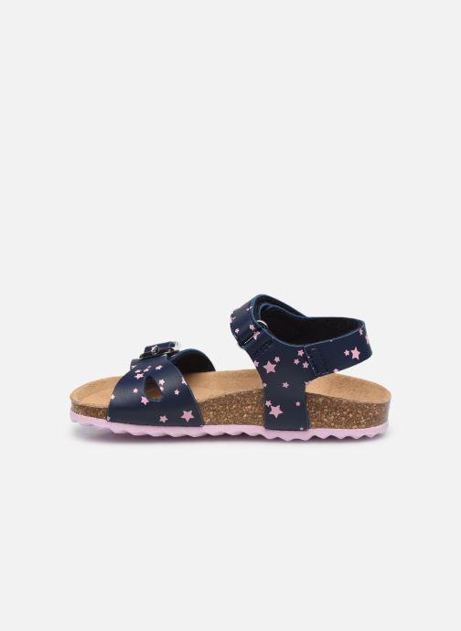 Sandali e scarpe aperte Geox B Sandal Chalki Girl  B922RA Azzurro immagine frontale