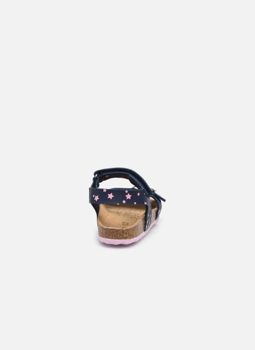 Sandali e scarpe aperte Geox B Sandal Chalki Girl  B922RA Azzurro immagine destra