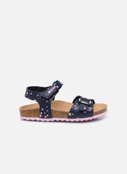 Sandali e scarpe aperte Geox B Sandal Chalki Girl  B922RA Azzurro immagine posteriore