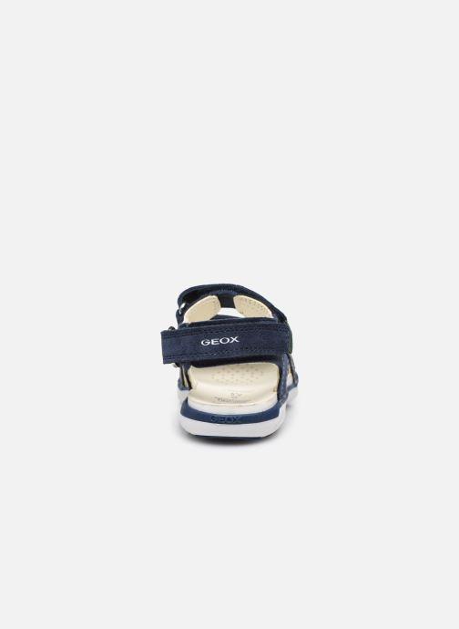 Sandalen Geox B Sandal Delhi Boy B154LC blau ansicht von rechts