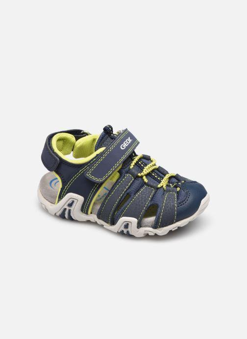 Sandales et nu-pieds Geox B Sandal Kraze B1524A Bleu vue détail/paire
