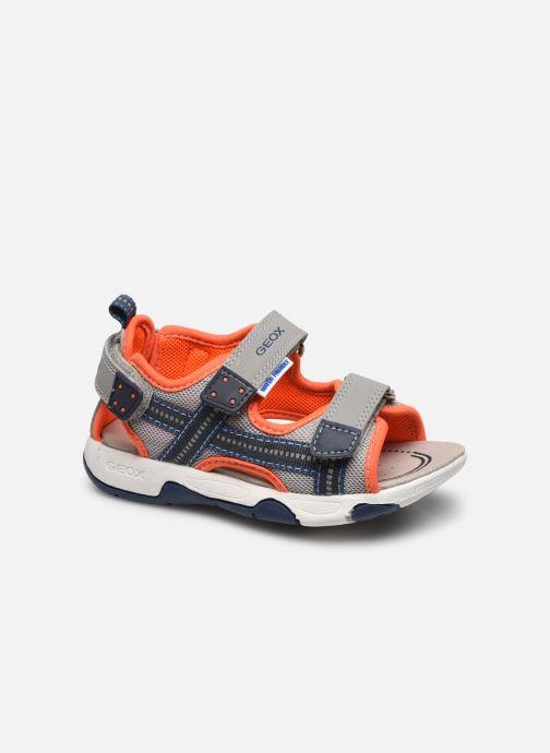 Sandales et nu-pieds Geox B Sandal Multy Boy B150FA Gris vue détail/paire