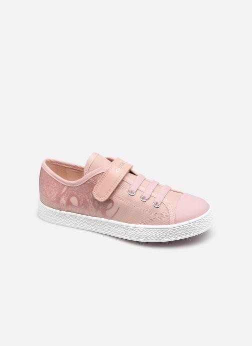 Sneaker Geox Jr Ciak Girl J1504G rosa detaillierte ansicht/modell
