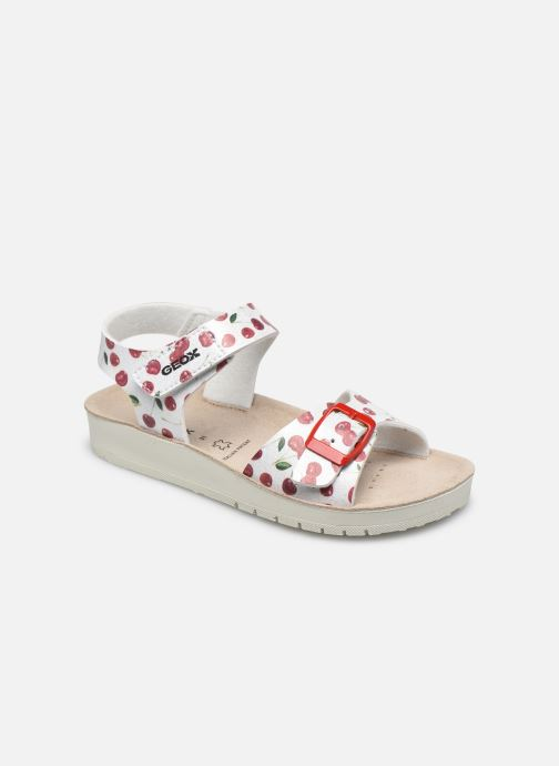 Sandales et nu-pieds Geox J Sandal Costarei Gi J15EAB Argent vue détail/paire