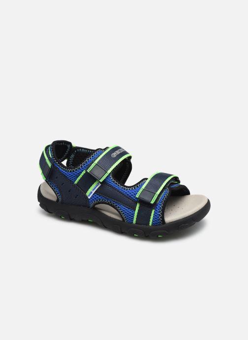 Sandalen Geox Jr Sandal Strada J1524A blau detaillierte ansicht/modell