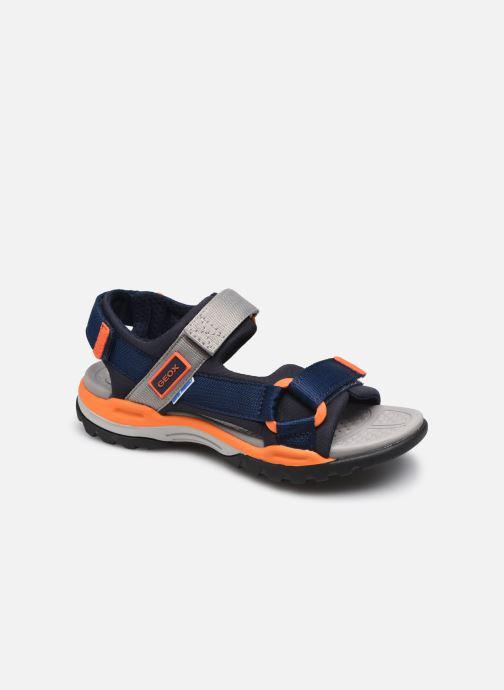 Sandales et nu-pieds Geox J Borealis Boy J150RA Bleu vue détail/paire