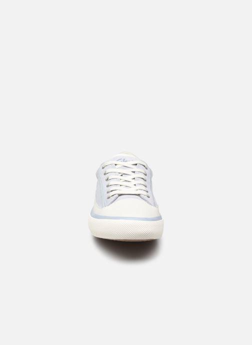 Sneaker Clarks Aceley Lace blau schuhe getragen
