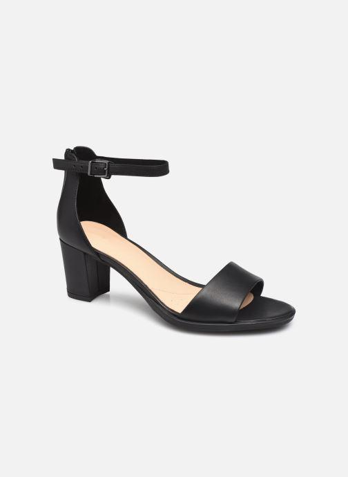 Sandales et nu-pieds Clarks Kaylin60 2Part Noir vue détail/paire