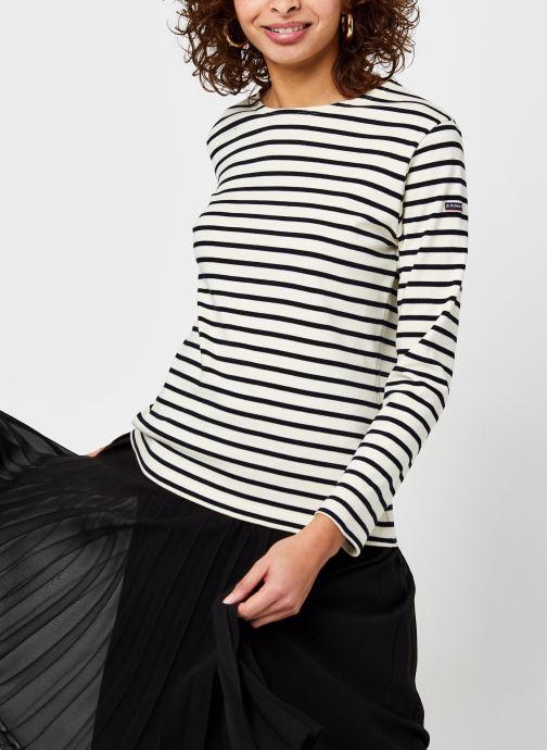 Vêtements Armor Lux Marinière ''Lesconil'' Femme Beige vue droite