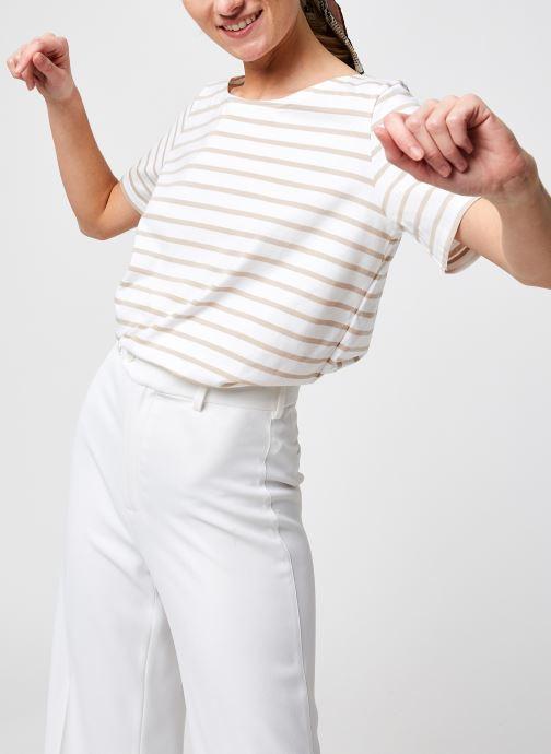 T-shirt - Marinière ''Hoëdic'' Femme