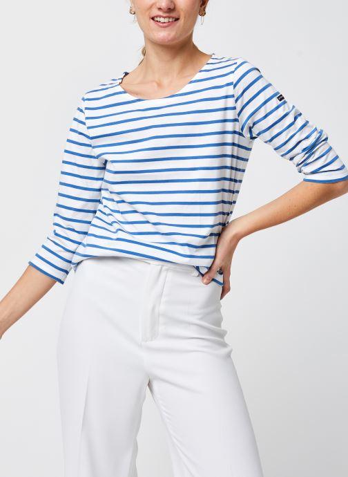 T-shirt manches longues - Marinière ''Cap Coz'' F