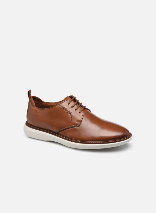 Chaussures à lacets Clarks Brantin Low Marron vue détail/paire