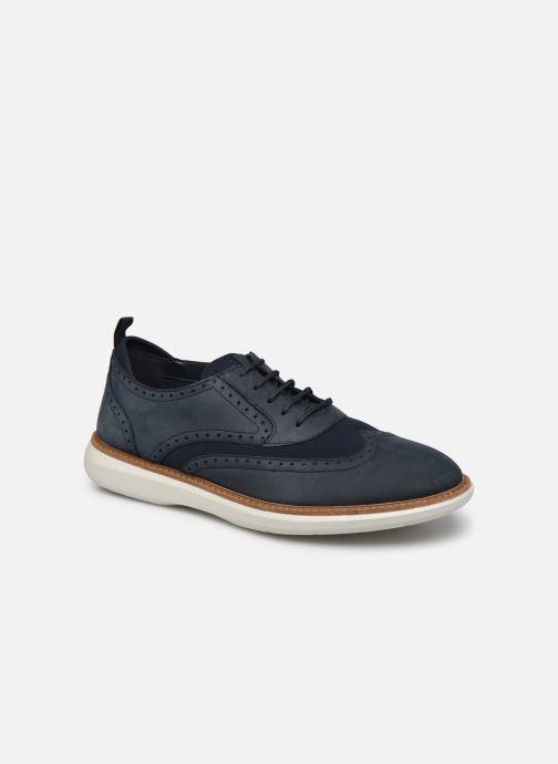 Zapatos con cordones Clarks Brantin Wing Azul vista de detalle / par