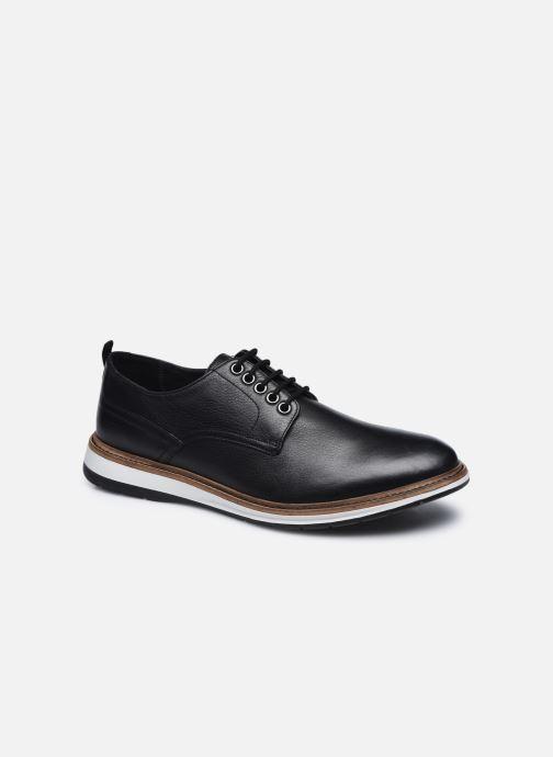 Chaussures à lacets Clarks Chantry Walk Noir vue détail/paire