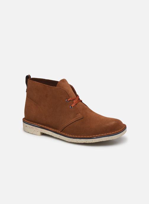 Bottines et boots Clarks Bushacre 3 Marron vue détail/paire