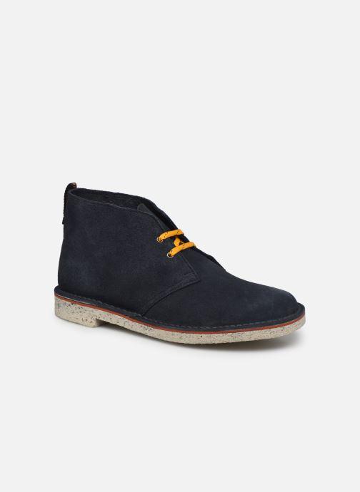 Bottines et boots Clarks Bushacre 3 Bleu vue détail/paire