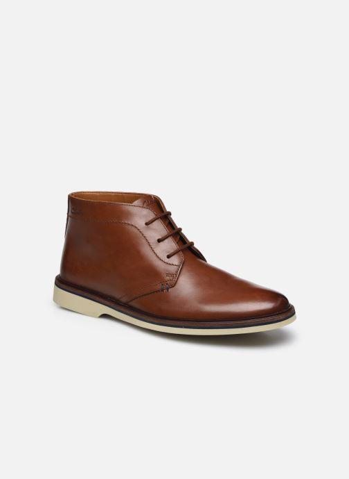 Bottines et boots Clarks Malwood Mid Marron vue détail/paire