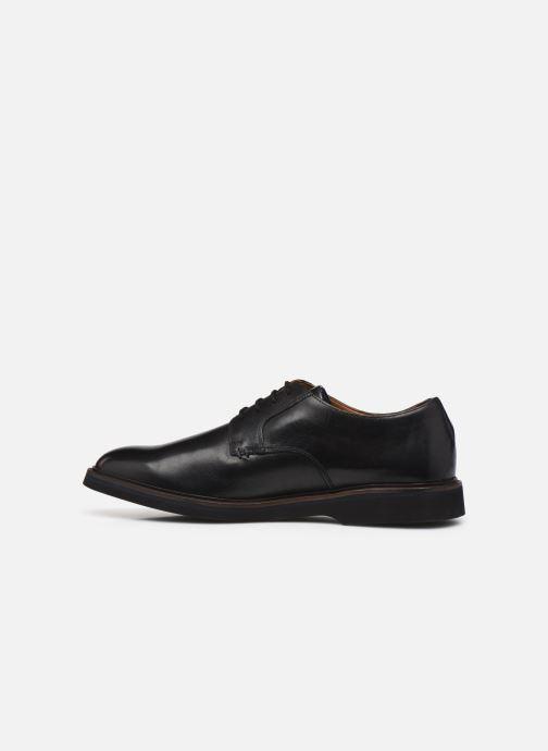 Chaussures à lacets Clarks Malwood Plain Noir vue face