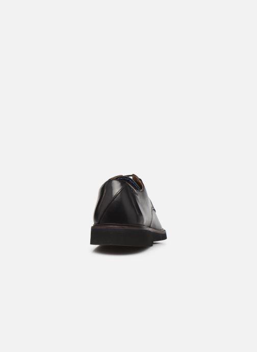 Chaussures à lacets Clarks Malwood Plain Noir vue droite