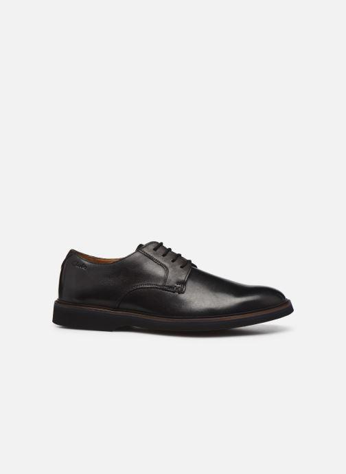 Chaussures à lacets Clarks Malwood Plain Noir vue derrière
