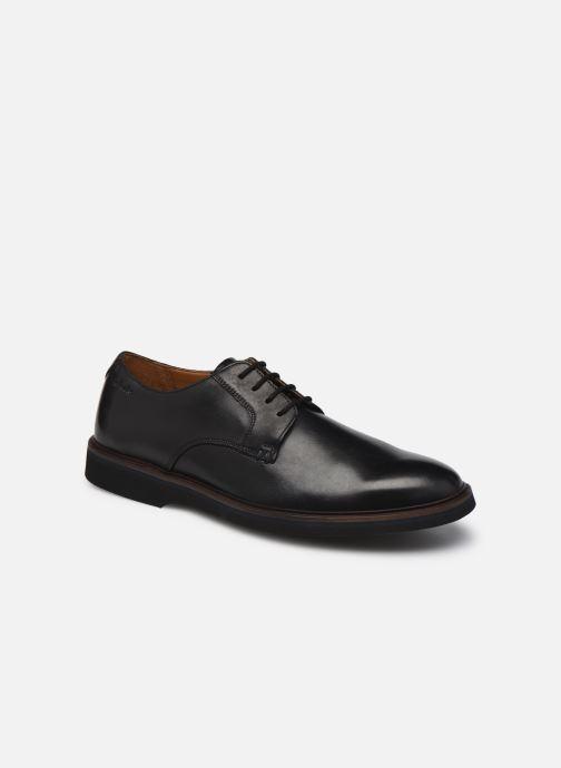 Chaussures à lacets Clarks Malwood Plain Noir vue détail/paire